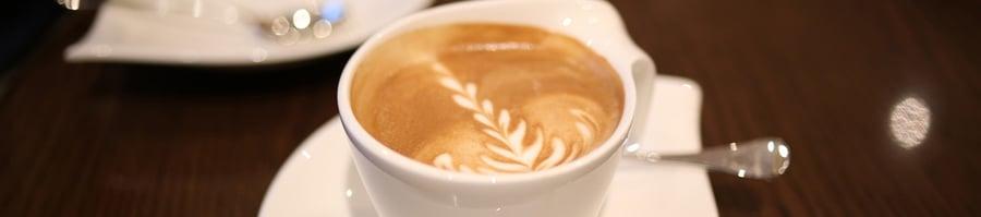 Coffee on Seabourn Ovation