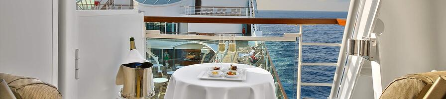 In-suite Dining -Seabourne Ovation