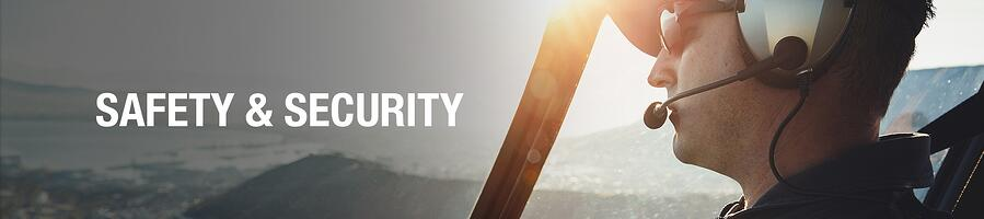 Safety and Security Header